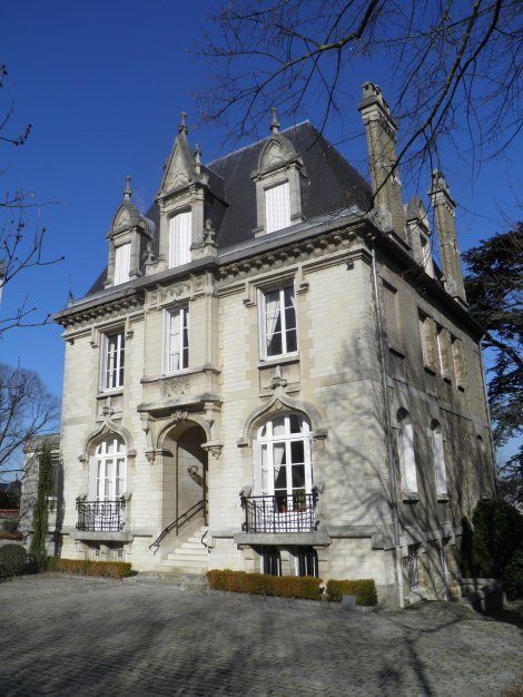 Champagne Michel Gonet Mansion in Epernay