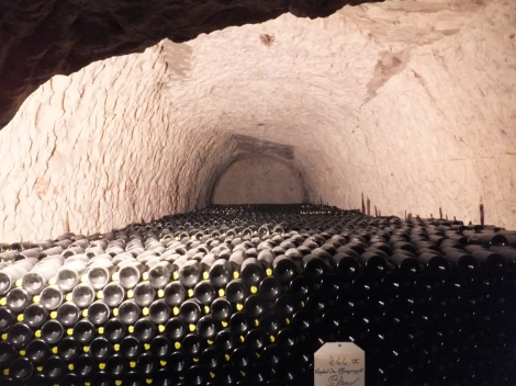 The Bottles Await